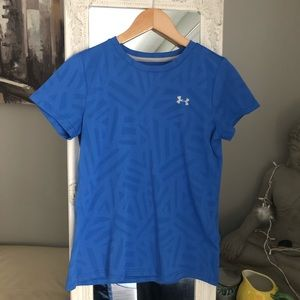 Under Armour Blue Work Out Top